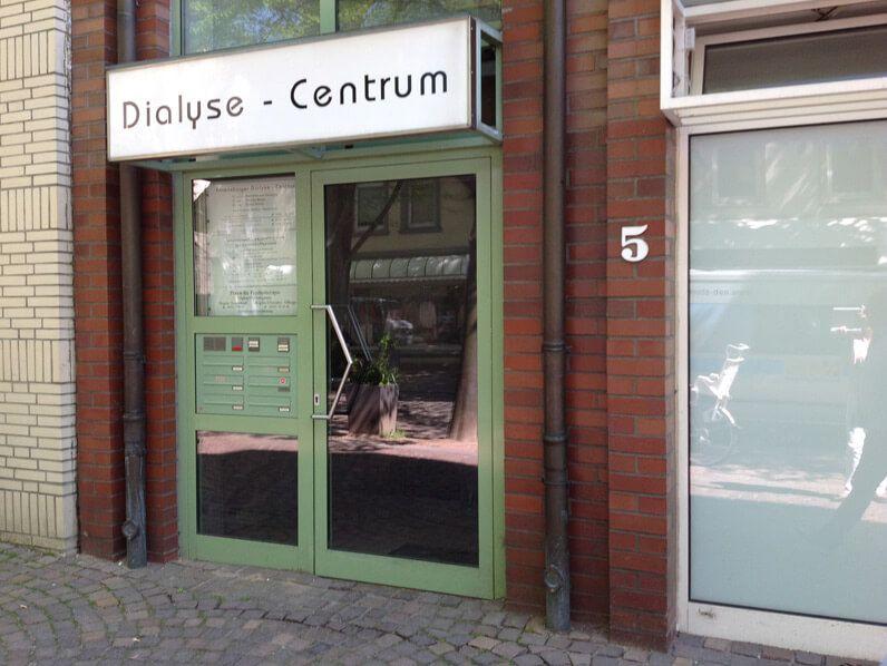Bild von der Außenansicht Dialyse Ahrensburg