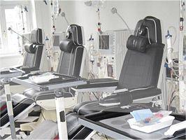 Bild von der Innenansicht Dialyse Bad Oldesloe